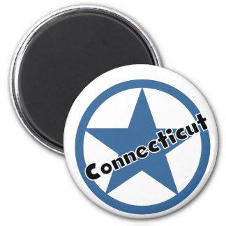 Kreis Connecticut Runder Magnet 5,1 Cm