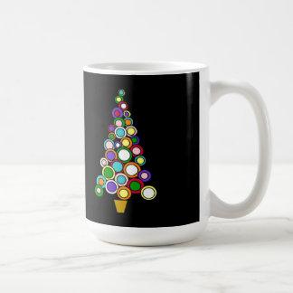 Kreis der Licht-WeihnachtsTasse Kaffeetasse