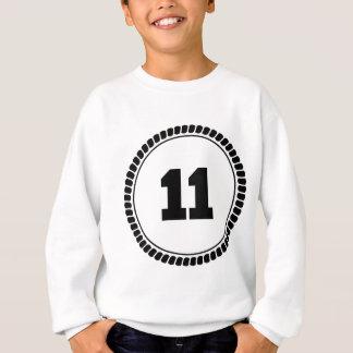 Kreis der Nr.-11 Sweatshirt