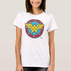 Kreis der Wunder-Frauen-  u. Stern-Logo T-Shirt