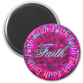 Kreis des Glaubens Runder Magnet 5,1 Cm