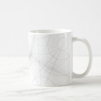 Kreis-Klecks-Entwurf Kaffeetasse