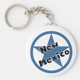 Kreis-New Mexiko Schlüsselanhänger