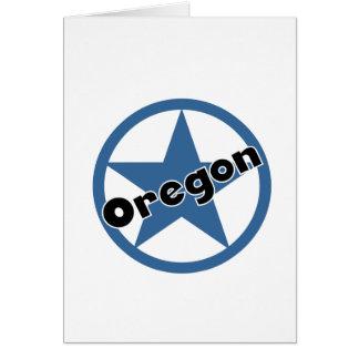 Kreis Oregon Karte