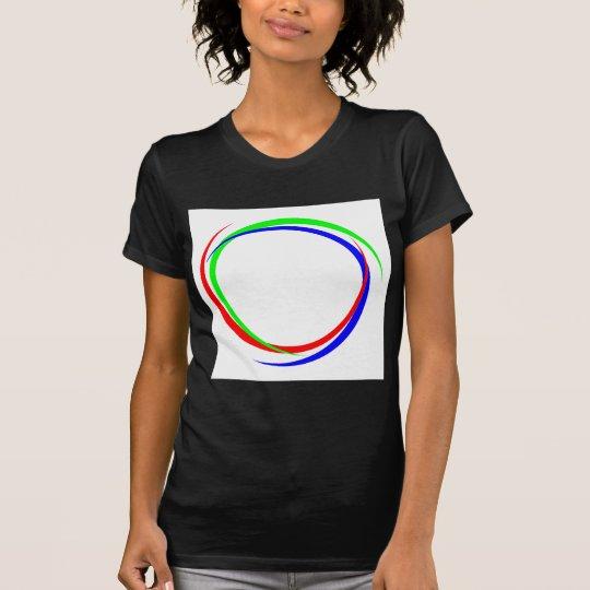 Kreis-RGB-Logo T-Shirt