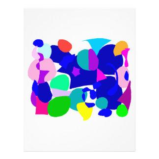 Kreis-Spiel-Wolken-Tierspurn-Fisch-Wasser 21,6 X 27,9 Cm Flyer