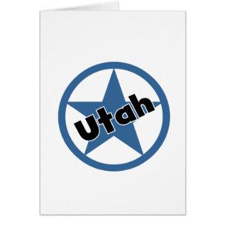 Kreis Utah Karte