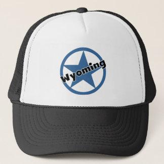 Kreis Wyoming Truckerkappe
