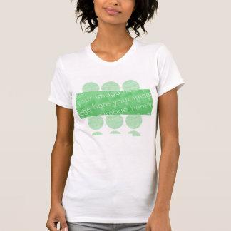 Kreise und Kasten-Entwurfs-Effekt T-Shirt