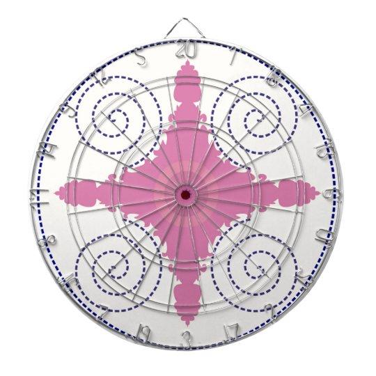 Kreisentwurfs-Motiv-Schablone für Dart-scheibe