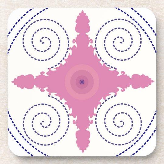 Kreisentwurfs-Motiv-Schablone für Untersetzer