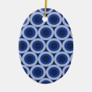 Kreiszyklus Ovales Keramik Ornament