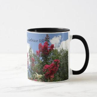 Kreppmyrten-Blumen-Tasse Tasse