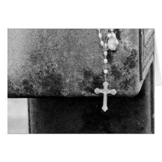 Kreuz auf einem Kreuz Karte