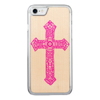 Kreuz Carved iPhone 8/7 Hülle