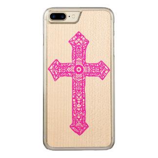 Kreuz Carved iPhone 8 Plus/7 Plus Hülle