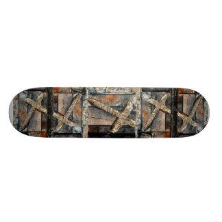 Kreuz der Stärke Individuelle Skateboarddecks