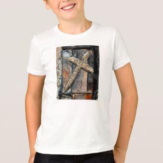 Kreuz der Stärke u. des Gebets für das Heilen T-Shirt