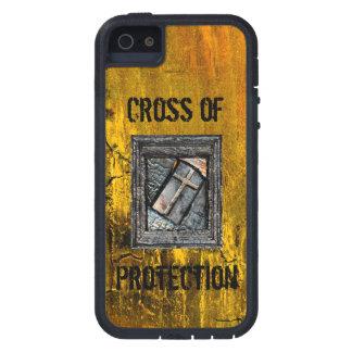 Kreuz des Schutzes Etui Fürs iPhone 5