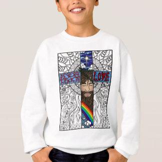 Kreuz in der Artkunst Sweatshirt
