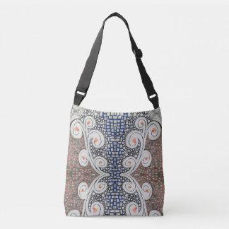 Kreuz-Körper Taschen-Tasche, ursprünglicher Art. Tragetaschen Mit Langen Trägern