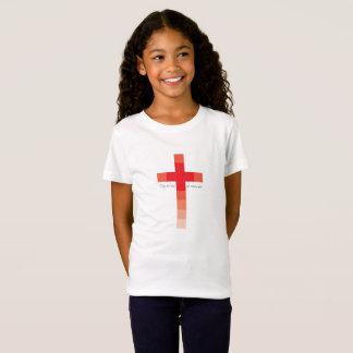 Kreuz-Mädchen T-Shirt