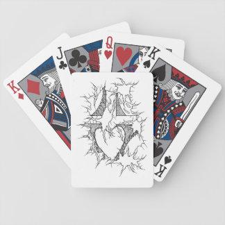 Kreuz schließen 2 an bicycle spielkarten