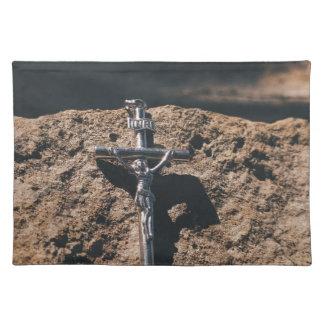 Kreuz und Sand Tischset