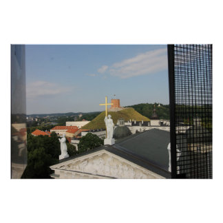 Kreuz Vilnius, Litauen, Turm Poster