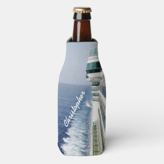 Kreuzen auf der Balkon-Reihe personalisiert Flaschenkühler