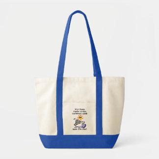 Kreuzfahrt-Antrieb-Taschen-Tasche - Meere der Tag! Tragetasche