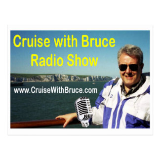 Kreuzfahrt mit Bruce Postkarte