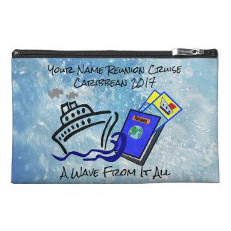 Kreuzfahrt-Reise-Zusatz-Tasche Reisekulturtasche