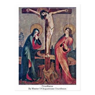 Kreuzigung durch Meister der Augustinian Postkarten