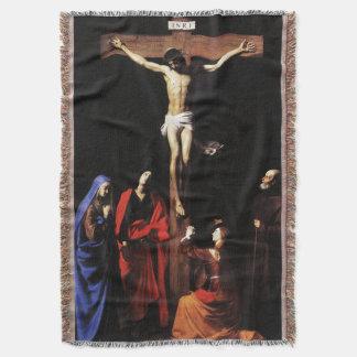 Kreuzigung von Jesus u. von Jungfrau Mary u. Decke