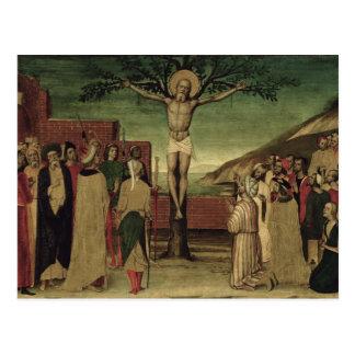 Kreuzigung von St Andrew Postkarte
