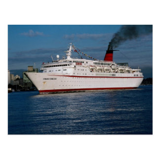 "Kreuzschiff ""Cunard Prinzessin "" Postkarte"