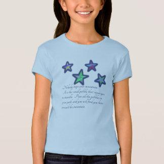 Kreuzung des Berges T-Shirt
