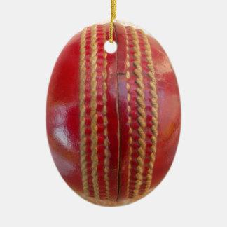 Kricket-Ball Keramik Ornament