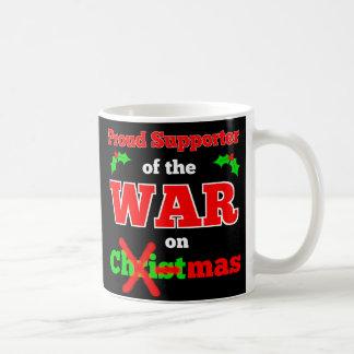 """""""Krieg auf Weihnachten"""" WeihnachtsTasse Kaffeetasse"""