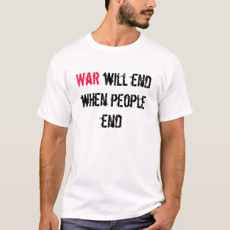 Krieg beendet T-Shirt