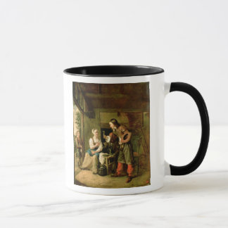 Krieger und Bediensteter, 1653 Tasse