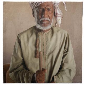 Kriegers-Telefon-Kasten von Oman Stoffserviette