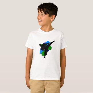 Kriegskunst-KinderShirt mit Hintergrund T-Shirt