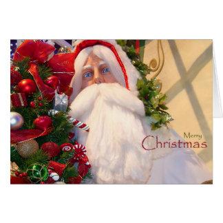 Kris Kringle /Santa Klaus Weihnachten Karte