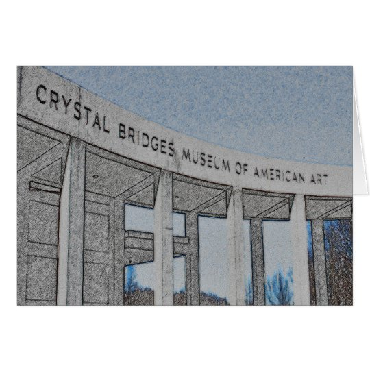 Kristall überbrückt Museum der amerikanischen Karte