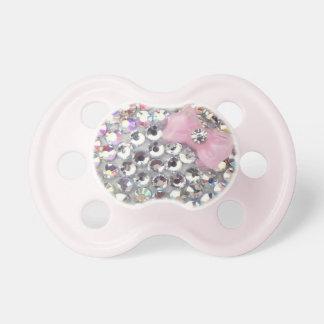 Kristalldiamante de imitación mit noblem schnuller