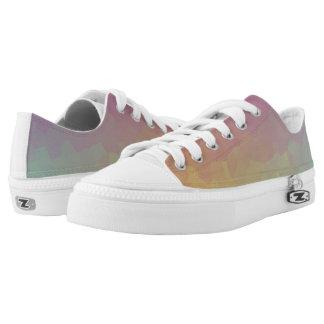 Kristallene Steigungs-Tapeten-Schuhe Niedrig-geschnittene Sneaker
