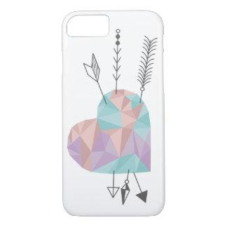 Kristallherz und Pfeile iPhone 7 Hülle