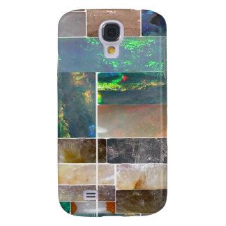 KRISTALLkünstlerische Marmorierungcollage: Galaxy S4 Hülle